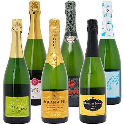1位 本格シャンパン製法の極上の泡6本セット